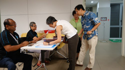 Registration of participants.