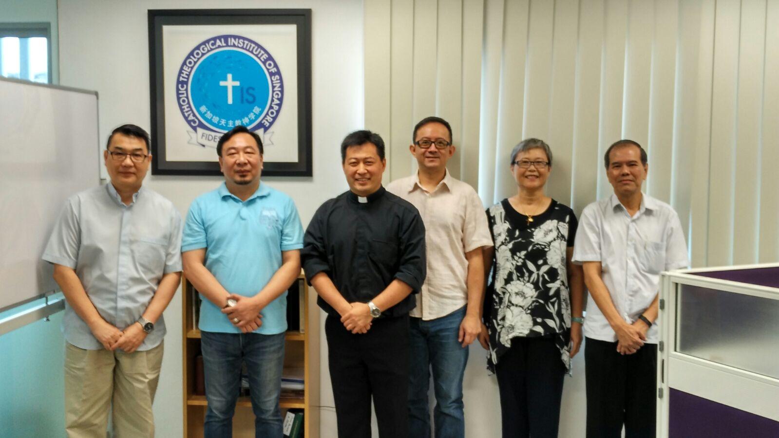 Prof. Ning, Rectors & staff of CTIS