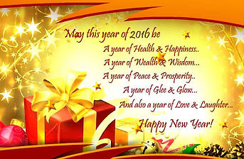 Wish you a Happy and a Prosperous New Year!