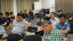 Attentive participants.