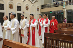 Priests and Archbishop
