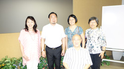 Prof. Ning with the Participants