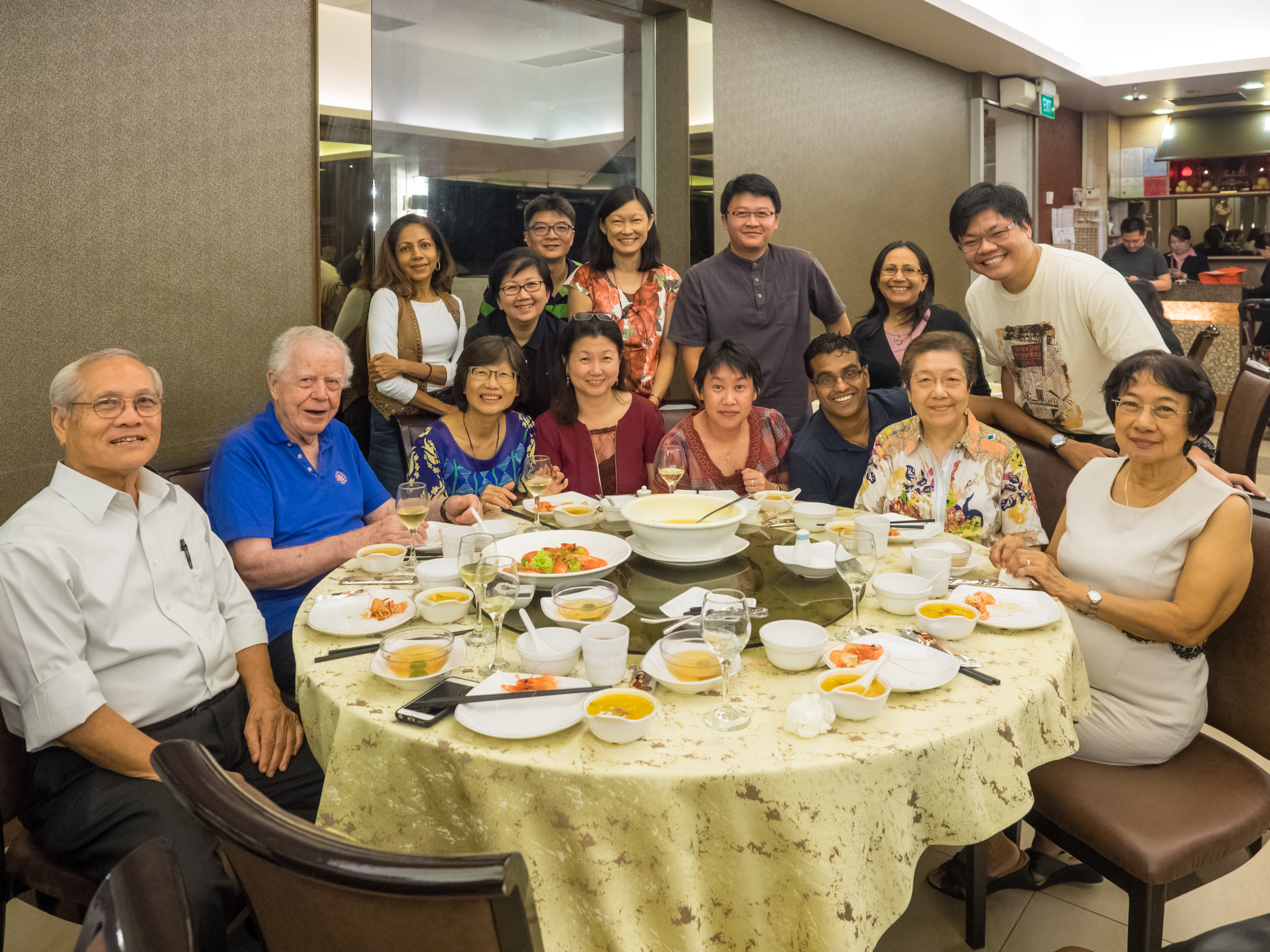 Dinner with Fr. Gerald O' Collins