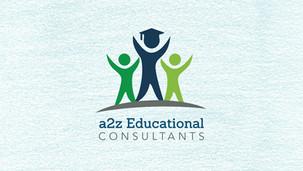 a2z Educational Consultants Logo Design