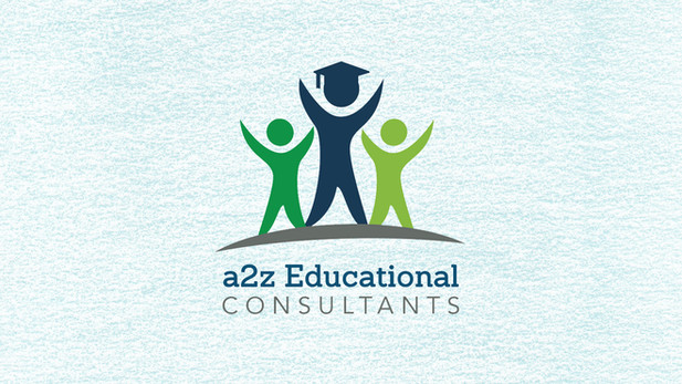 a2z Educational Consultants Logo Design