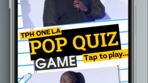 "Instagram Story ""Pop QUIZ"""