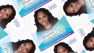 Woman Evolve Conference Branding