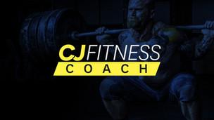 CJ Fitness Coach Logo Design