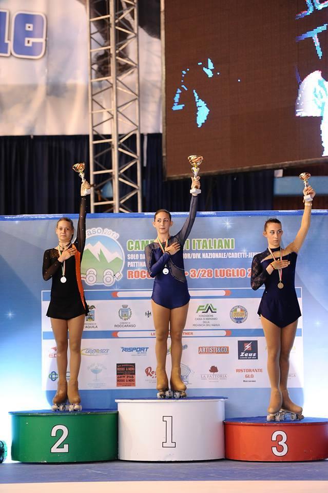 Erika Cerutti: Campionati Nazionali 2013 Roccaraso Cat.Promozionale D
