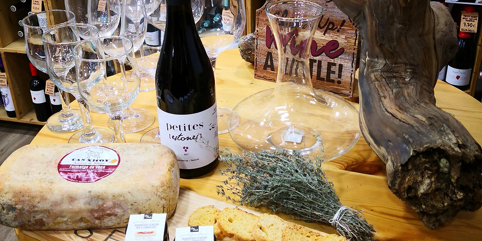 Cata Vino, queso y melmeladas de autor