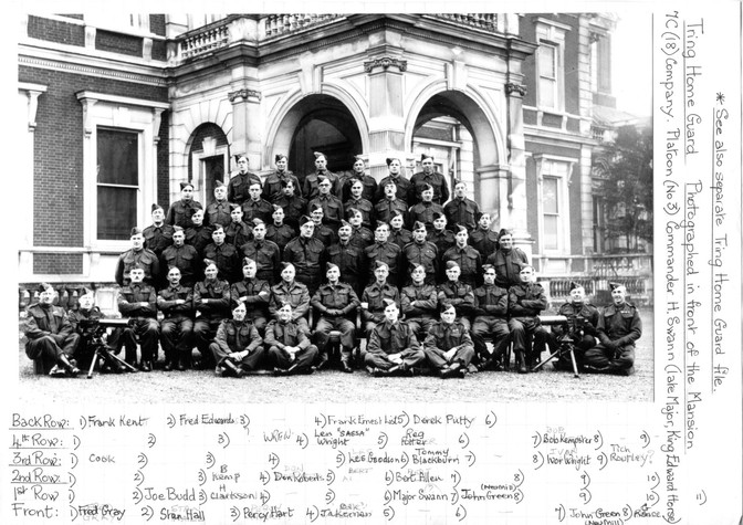 home guard 7c (18company) platoon 3 1945