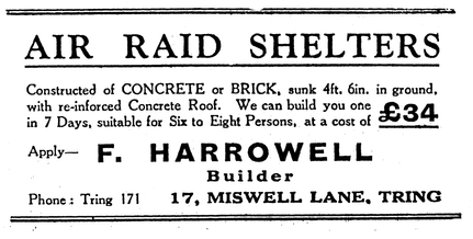 Air Raid Shelters advert.tif