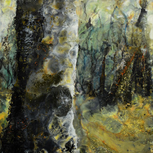 Jullie Andrews Gully Forest 1 Diptych Wa
