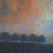Picnic Roadside Daylesford 2020-2021 Oil on Canvas Framed 103x103cm.jpg