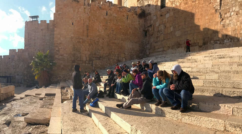 Southern Steps of the Temple Mount