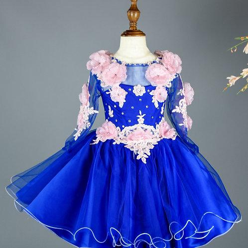 Our Ms Purity Blue Tutu  Dress