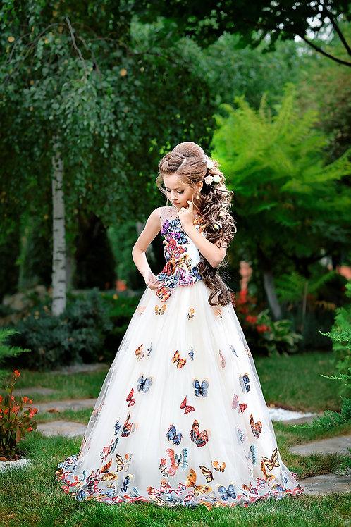 Elegant Daby  Butterfly Dress