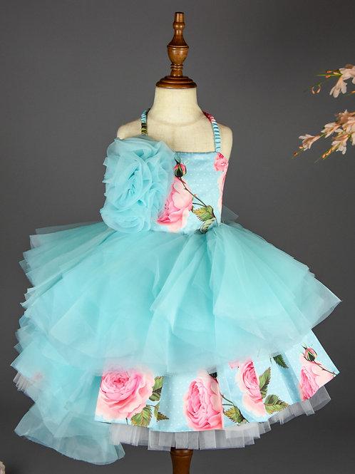 Luxurious Floral  Dress