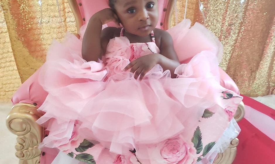Fadila Floral Dress