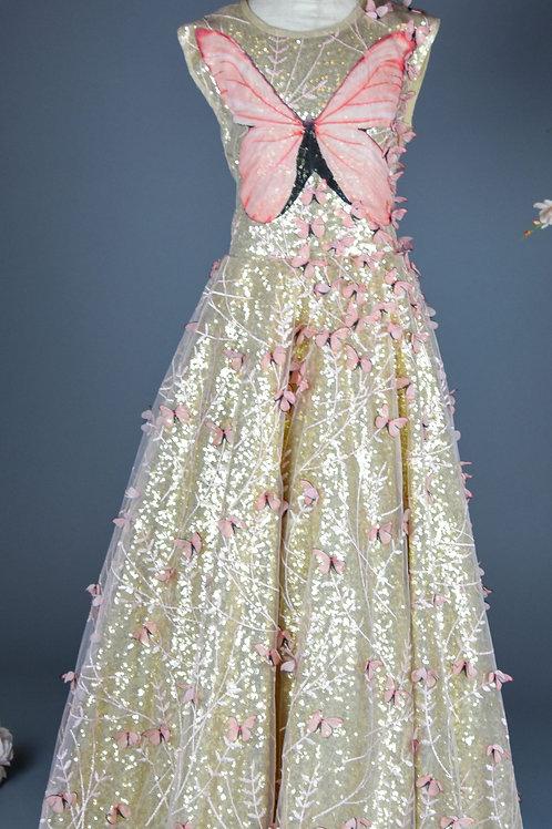 Yamil  butterfly Dress