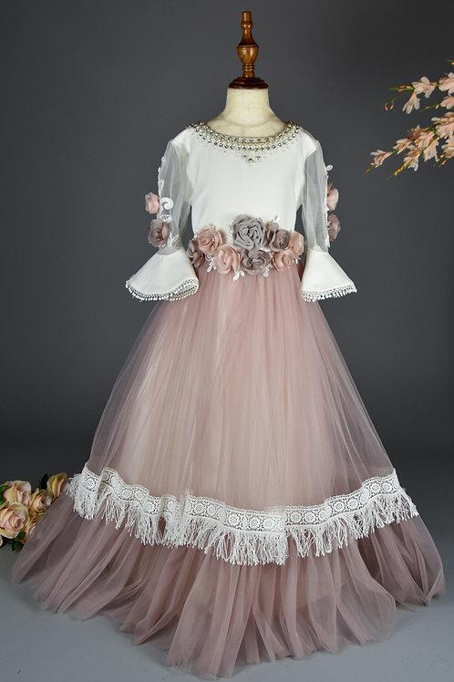 YEMIL Floor Length Dress