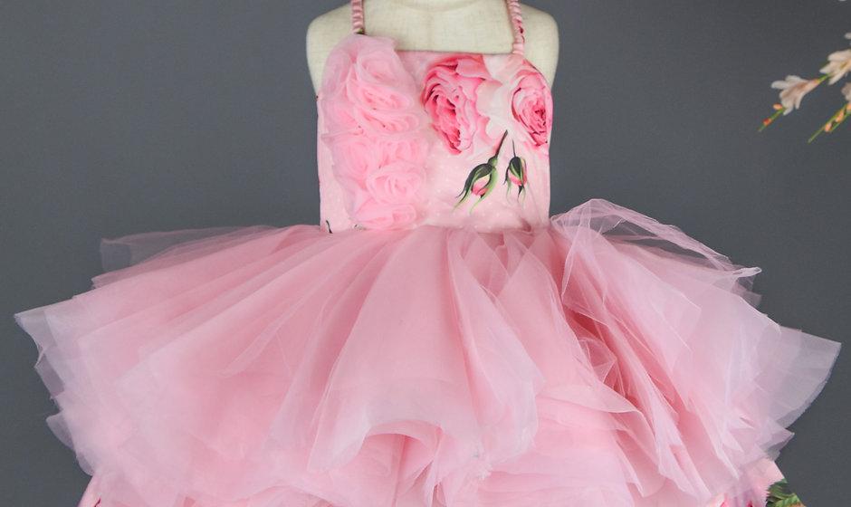 Yana Floral Dress