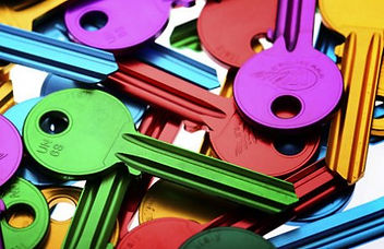 Key Cutting - Coloured & Design Keys