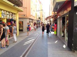 Pedestrian zone nearby