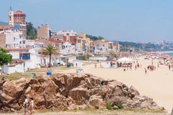 Sand beach of Montgat