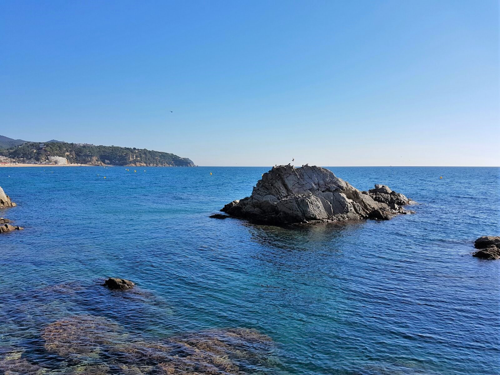 Rocks of Lloret de Mar
