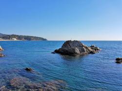 Rocks of Lloret de Mar