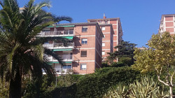 exterior view to the apartment