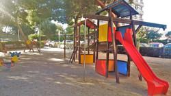childrens´s playground close to the
