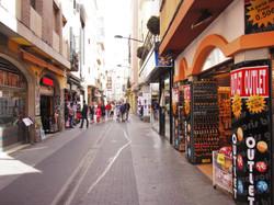 supermarket, bars, restaurants