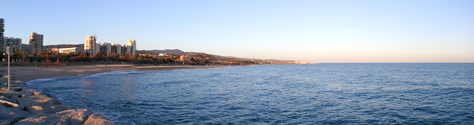 Mataró, sea and coast