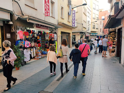 Pedestrian zone, in the near of the apartment