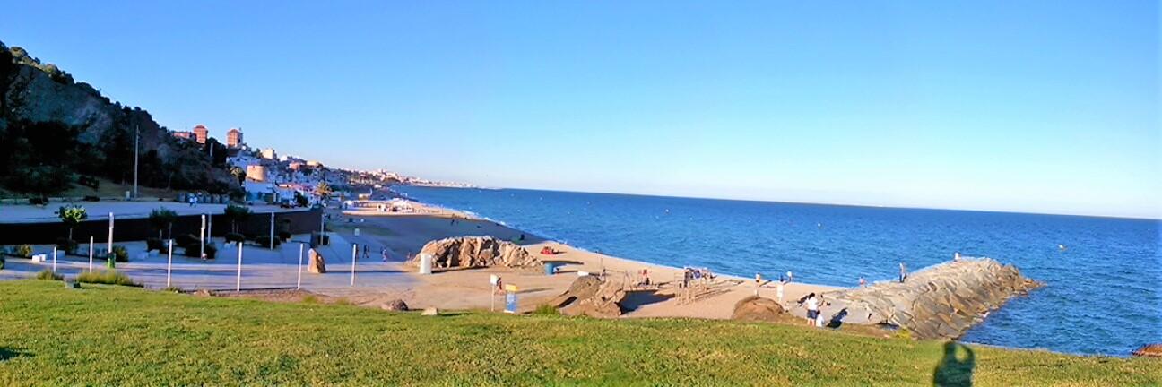 Park und Strand Montgat 2
