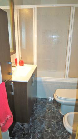 bathroom, shower, bidet