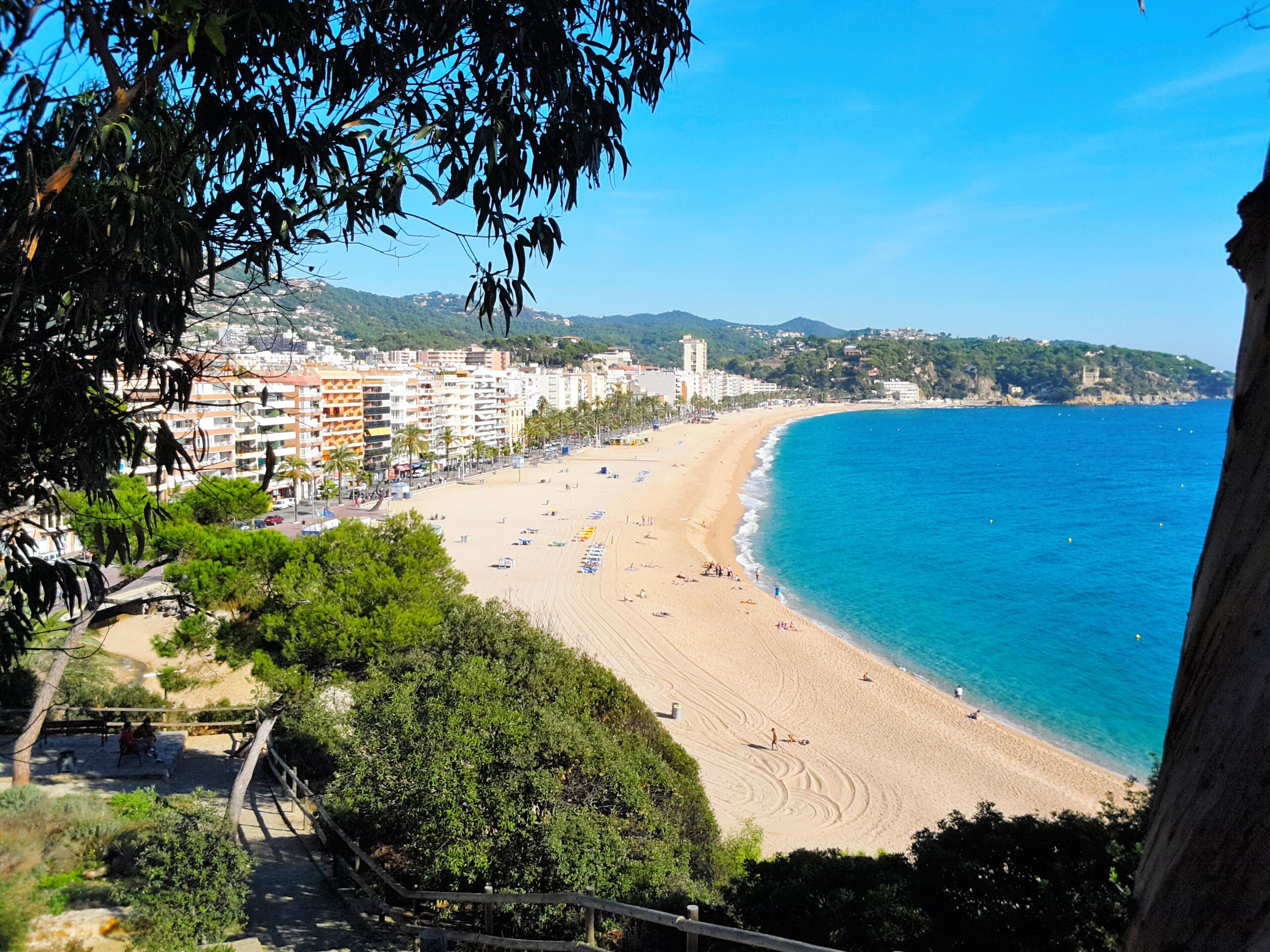 Beach of Lloret de Mar