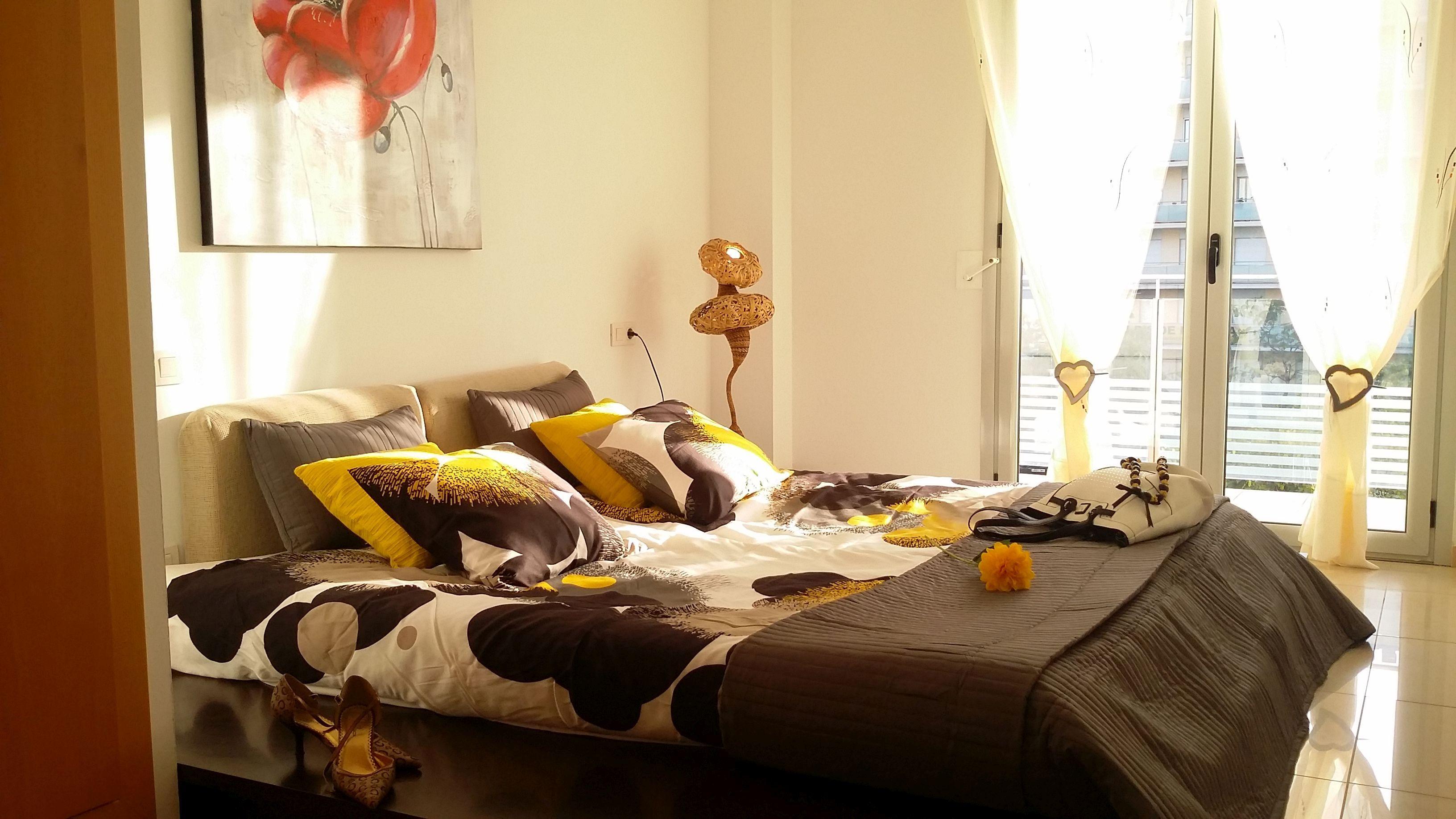Bedroom I: 1 double bed, balcony