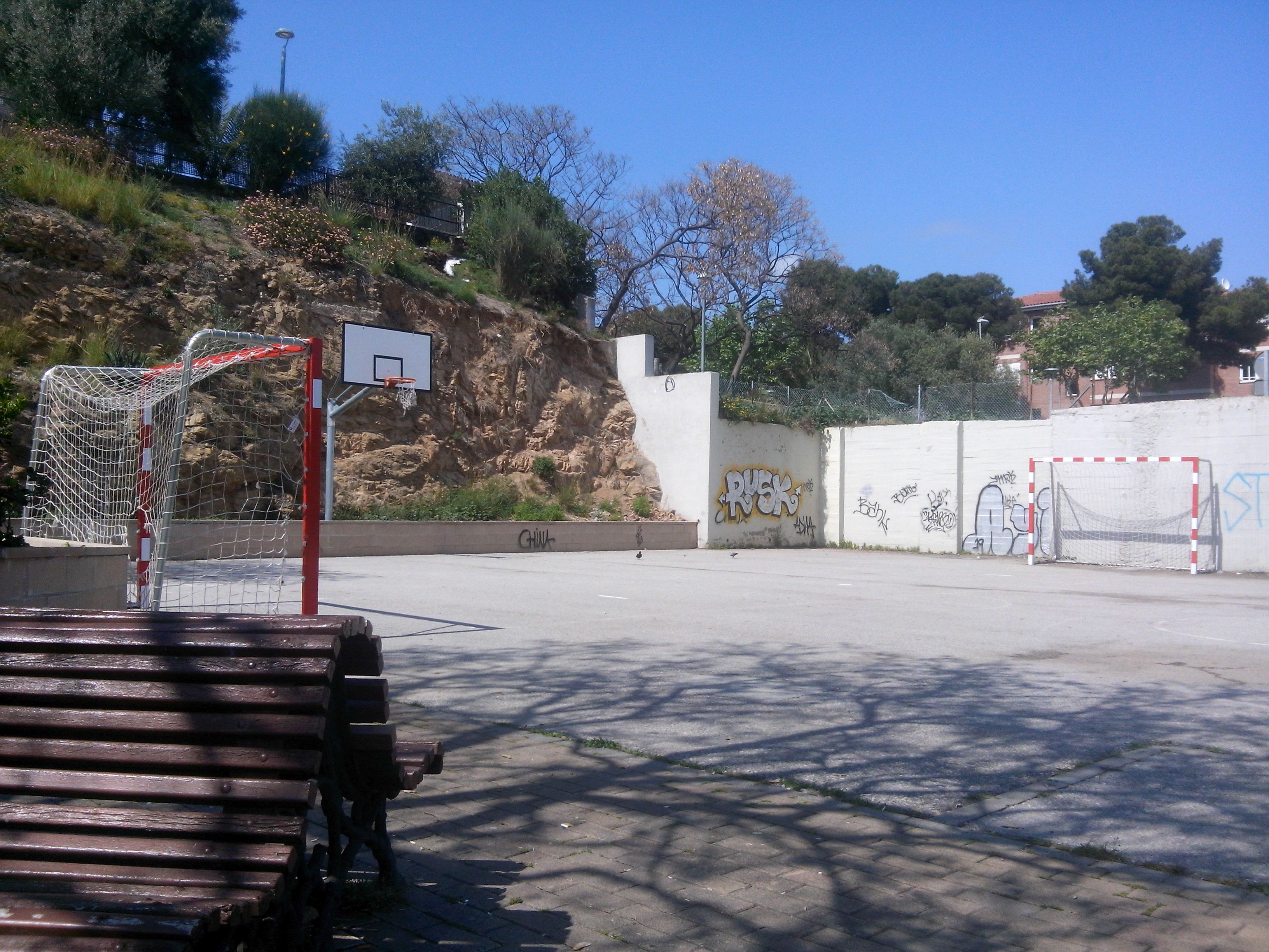 basketball / football ground