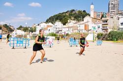 sport at the beach
