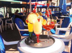Cocktail bars at the beach