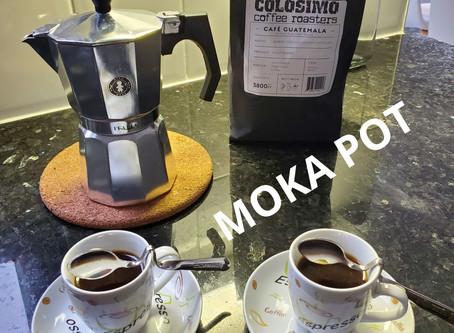 Moka pot ( Stove top espresso )
