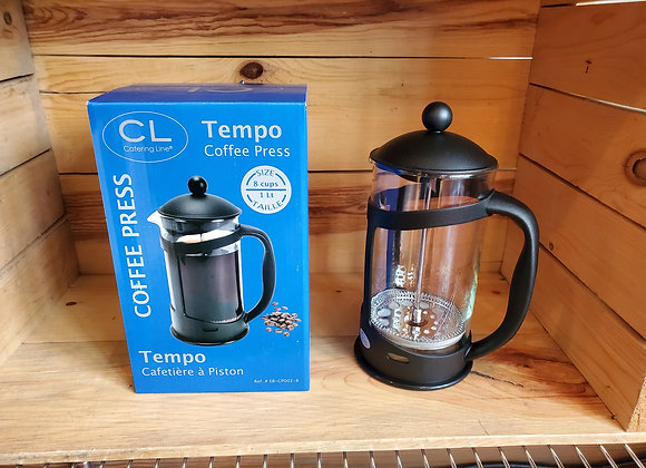 CL Tempo French Press 8 cup