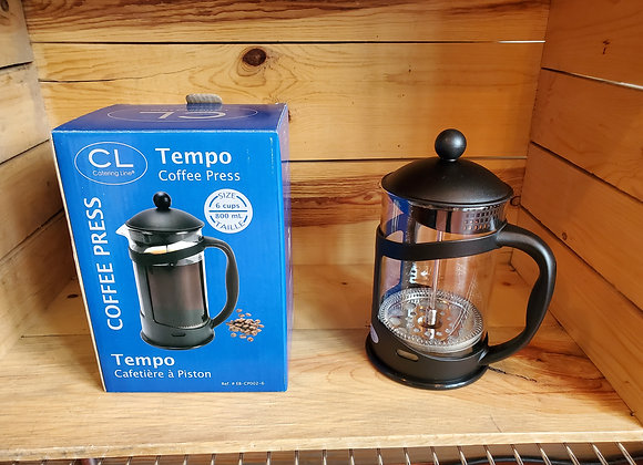 CL Tempo French Press 6 cup