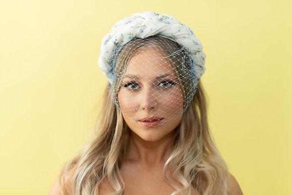 The Pearl Headband with veil