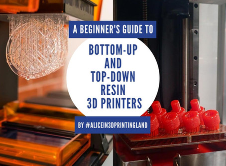The Differences Between Bottom-up Resin 3D Printers and Top-down Resin 3D Printers
