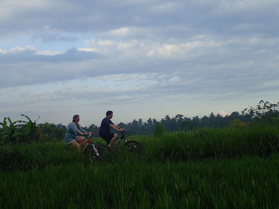 Authentic, Romantic Rice Paddies Cycling Tour in Bali