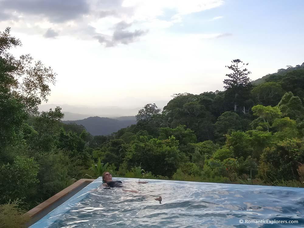 O'Reilly's Rainforest Retreat, Romantic Infinity pool